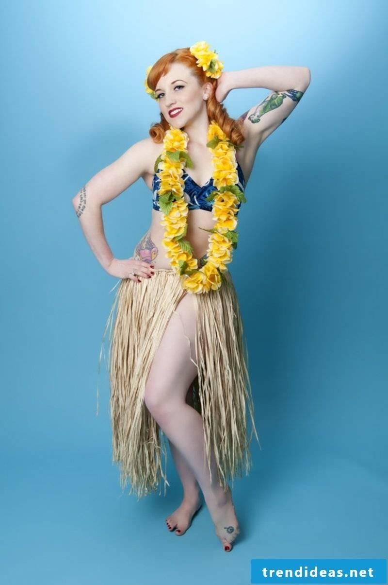 rockabilly hairstyles BLUE HAWAII