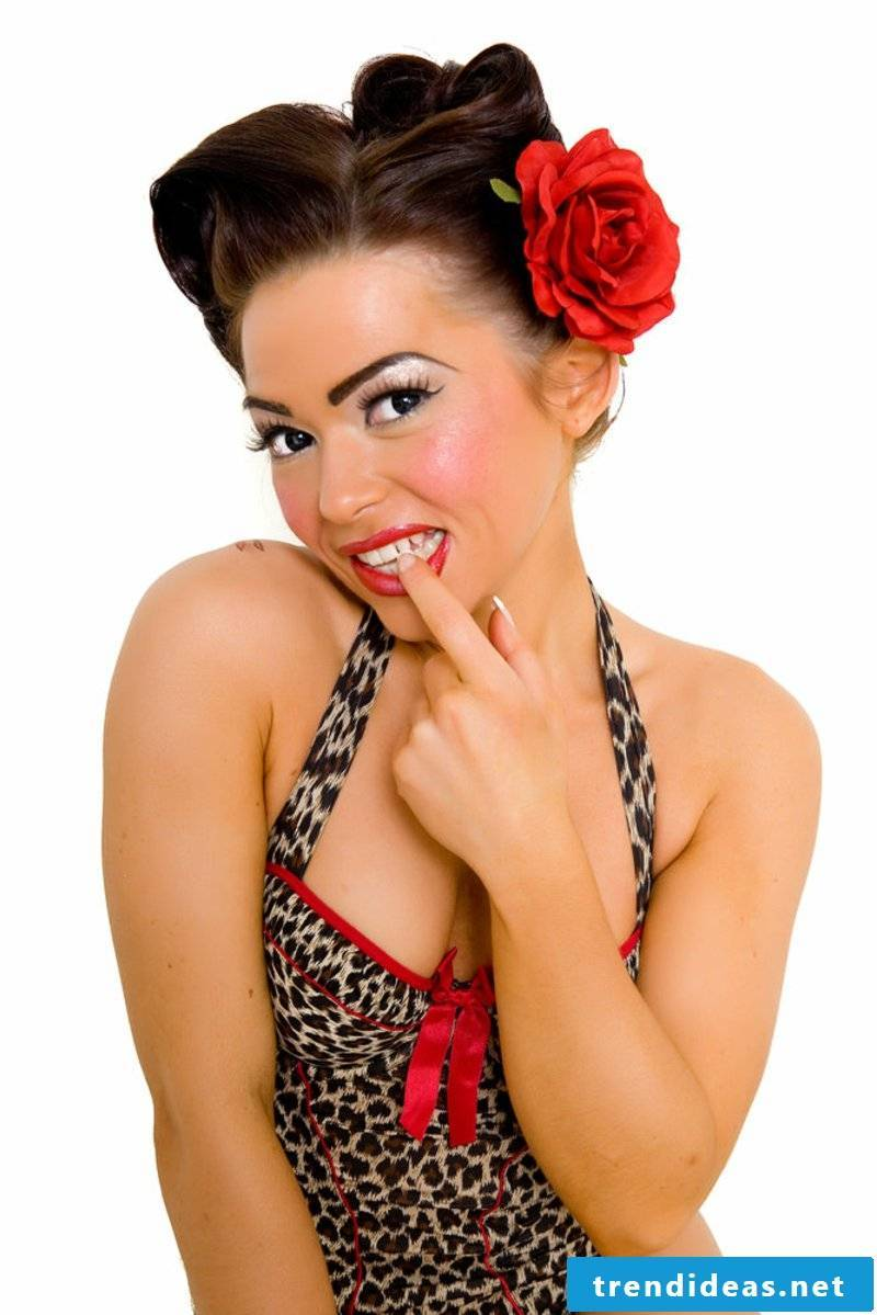 rockabilly hairstyles-A PLACE IN THE SUN