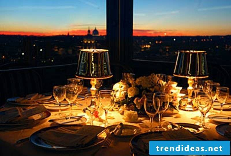 romantic-ideas-rooftop dinner dining-rooftop-Hassler Hotel