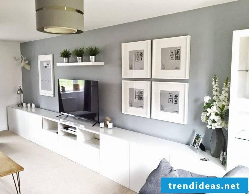 Room setup with Ikea hacks
