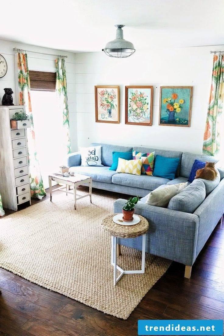 Room Setup with Ikea - Living Room Ideas