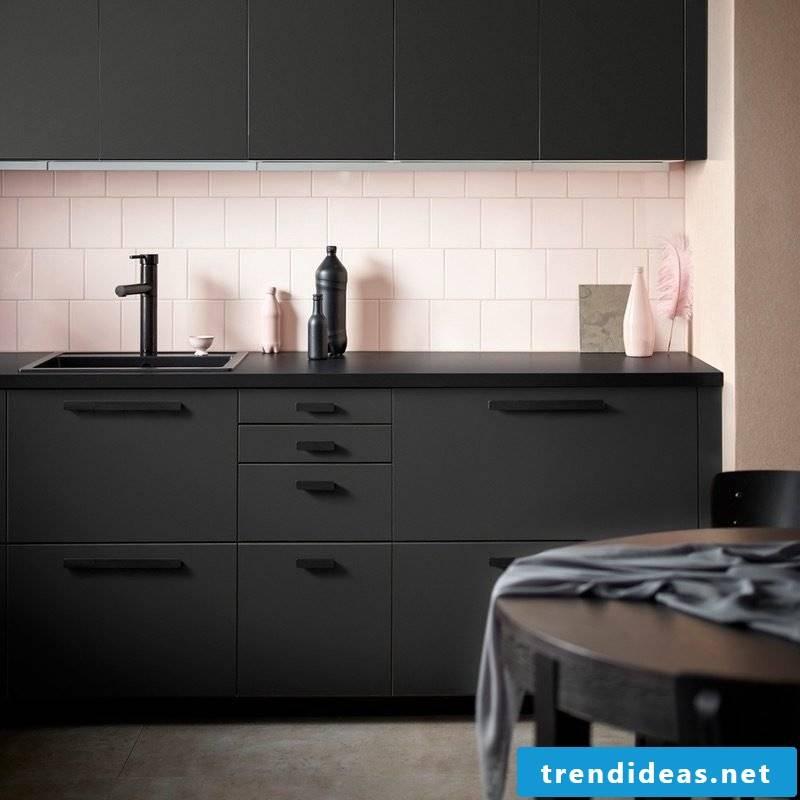 Room set up Ikea kitchen
