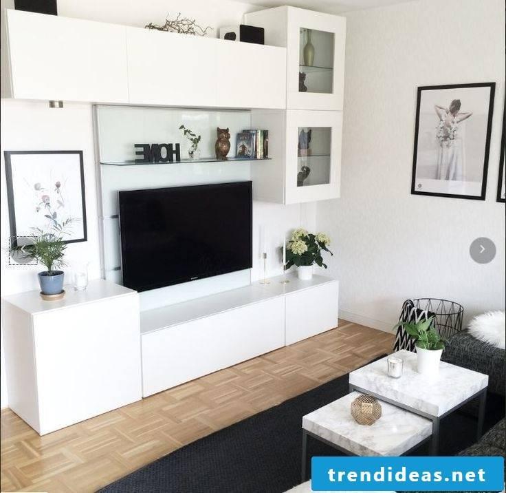 Set up a living room