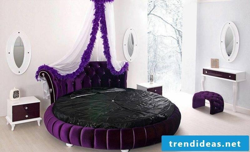 round bed gorgeous children's room