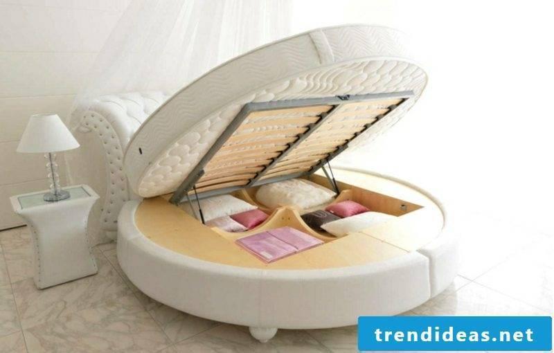 round bed model practically bedding box