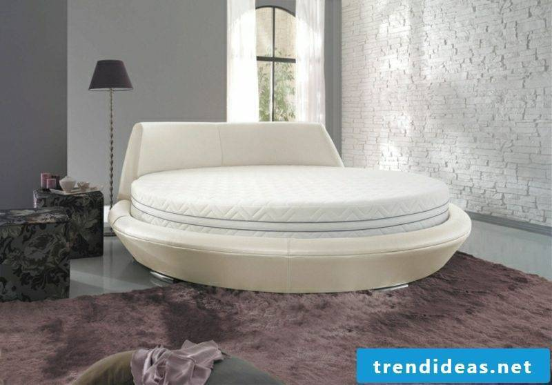 round bed simply modern