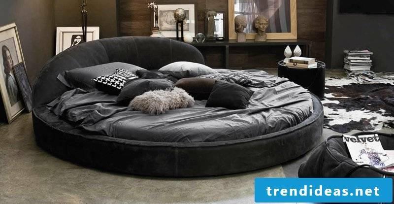 buy round bed benefits