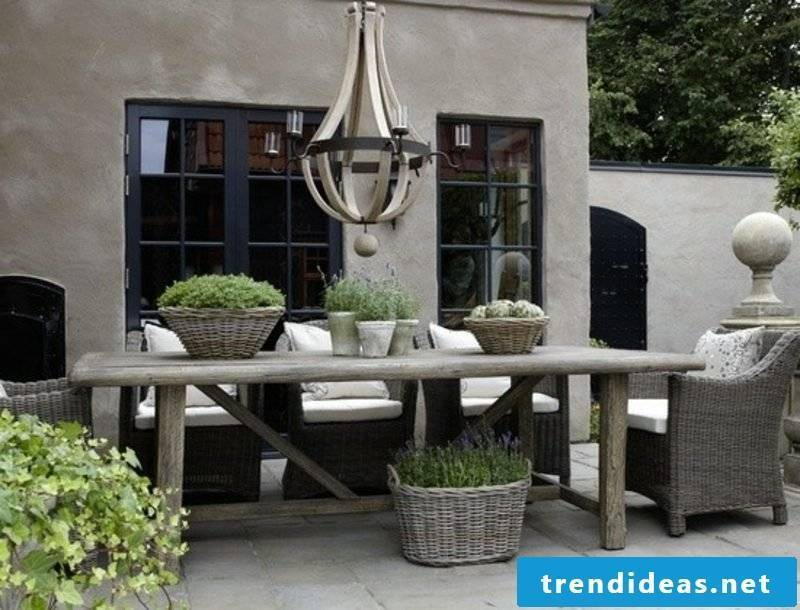 Modern rustic garden furniture garden furniture table chair sofa set