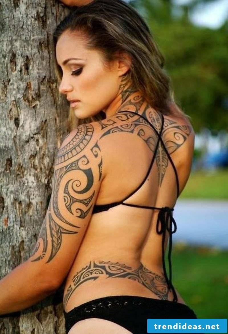 Samoa Tattoo Women