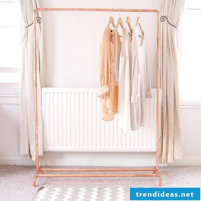 Clothes rail for wall or freestanding?