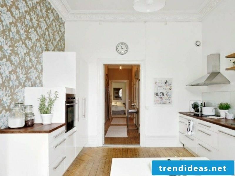 Scandinavian furniture kitchen neutral color scheme