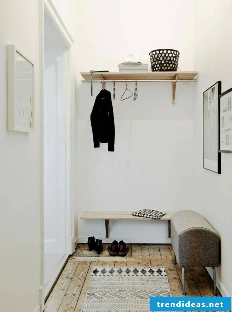 Scandinavian furniture hall in Scandinavian style puristic look