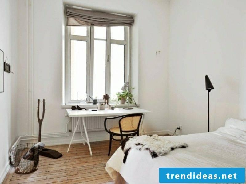 Scandinavian furniture bedroom neutral color scheme