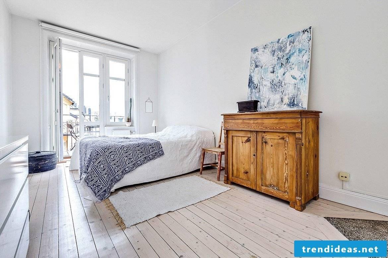Bedroom Scandinavian and modern