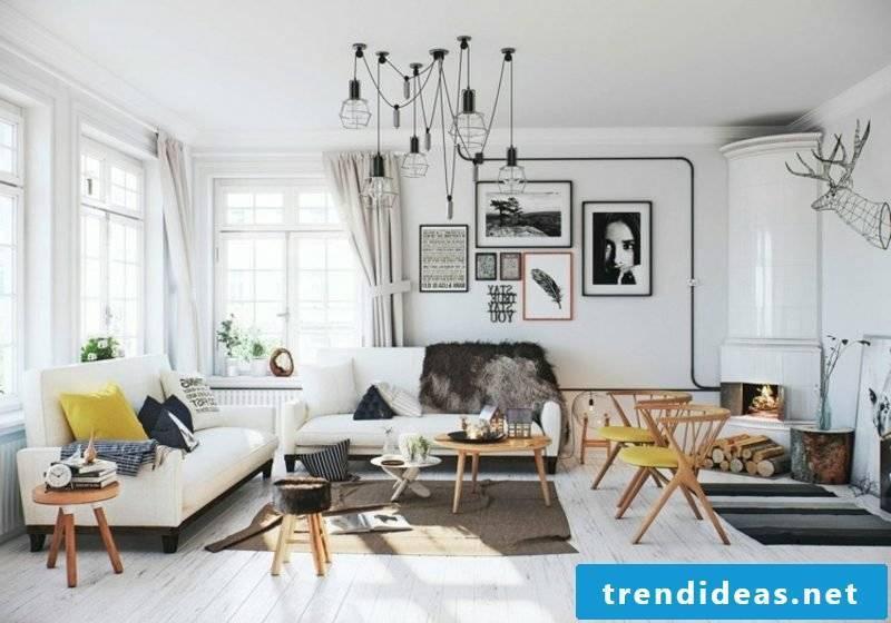 Scandinavian living living room