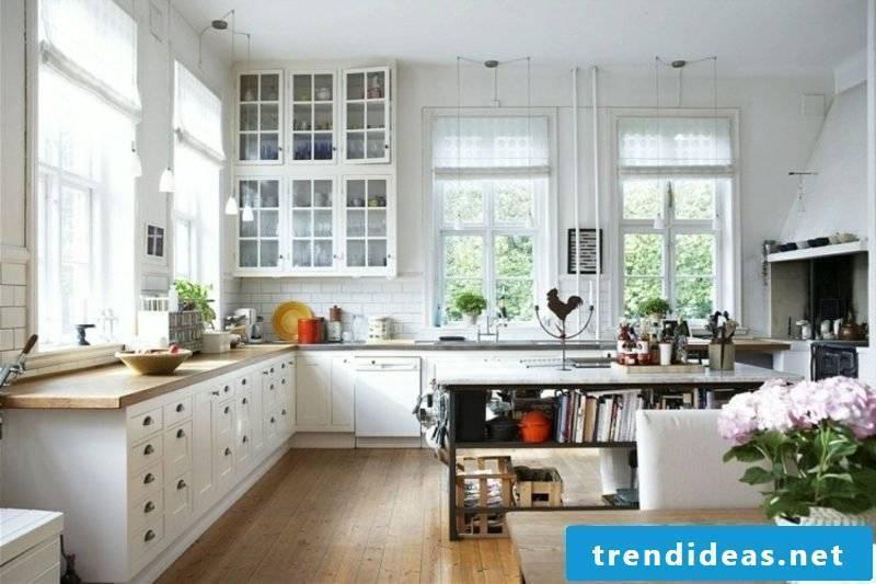 Scandinavian living living kitchen island black modern