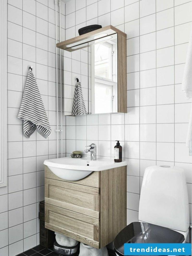 scandinavian living bath console mirror toilet deckek black