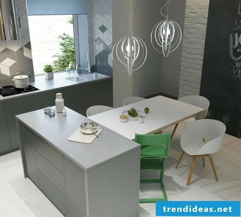 Scandinavian live modern kitchen