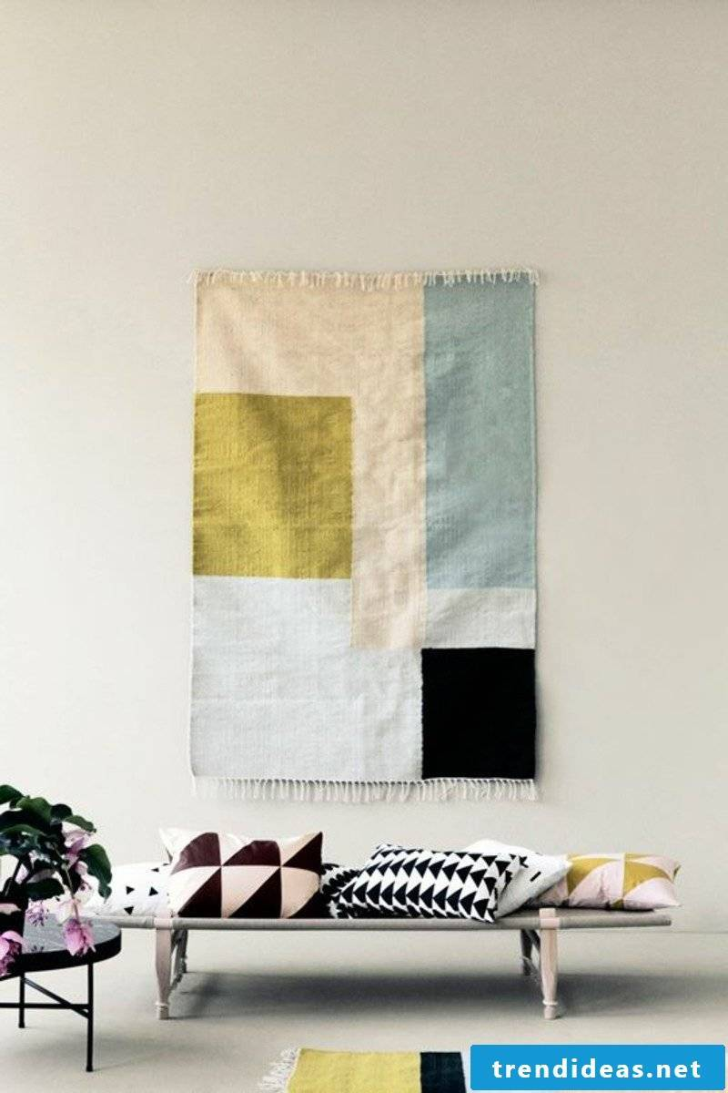 Geometric shapes and patterns in the Scandinavian institution