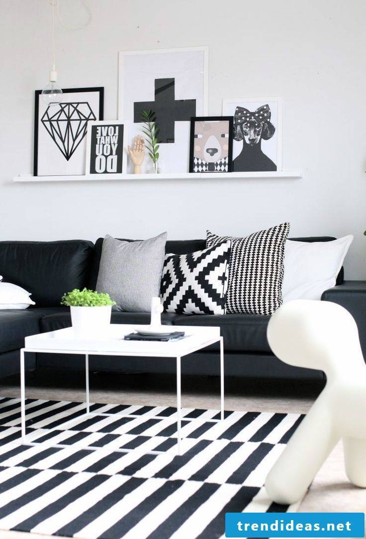 Geometric figures and patterns: charm of Scandinavian decoration