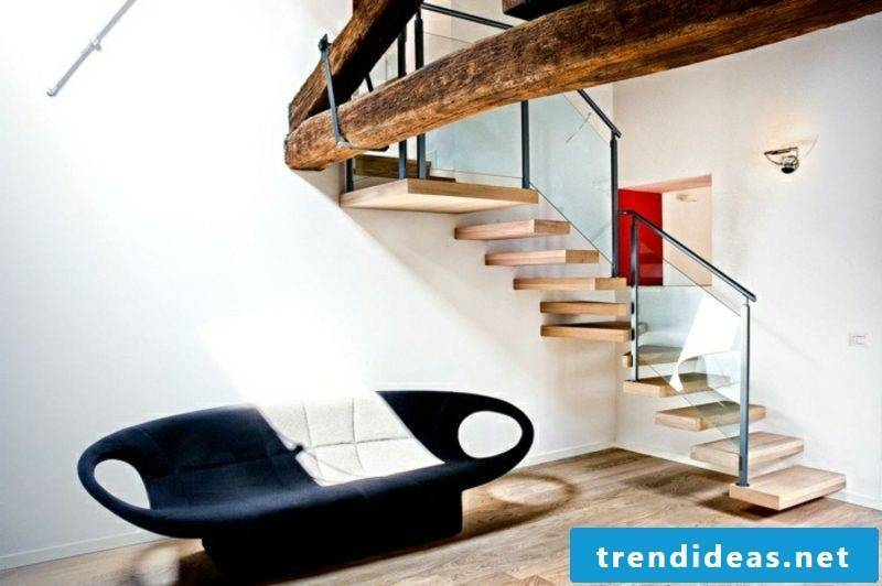 fragrant wooden staircase