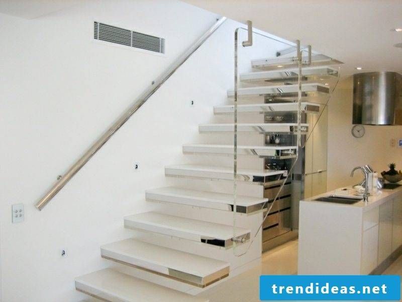 self-supporting stairs
