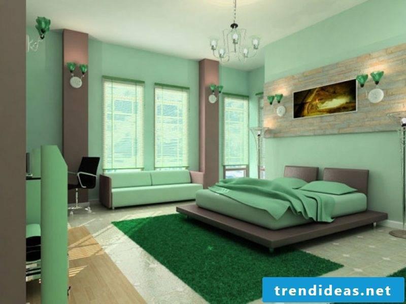 creative design ideas Feng Shui bedroom