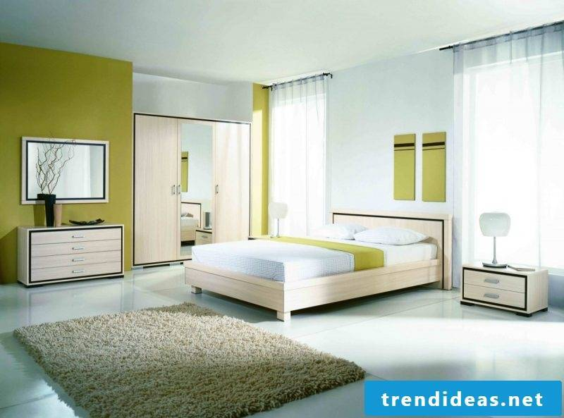 soft wall colors Bedroom after Feng Shui
