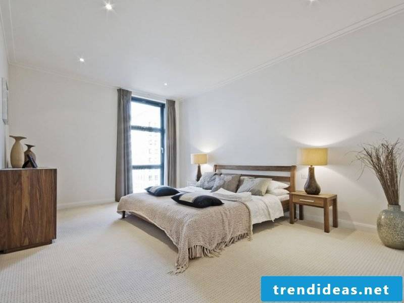 Feng Shui bedroom bright wall color