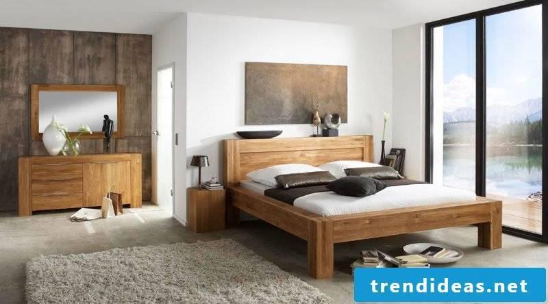 creative ideas Bedroom design after Feng Shui