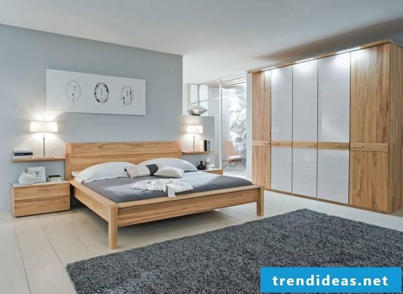Feng Shui bedroom in gray