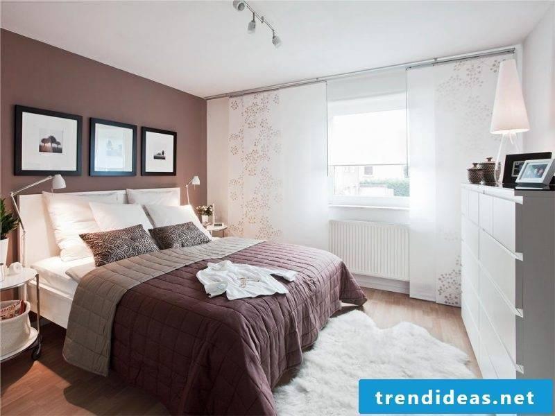 interior design Bedroom design according to Feng Shui