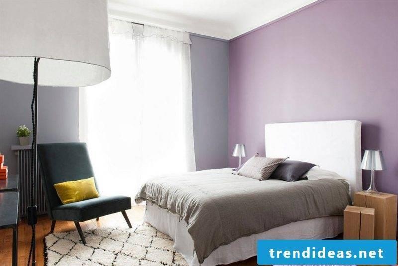 Bedroom in Fend Shui style