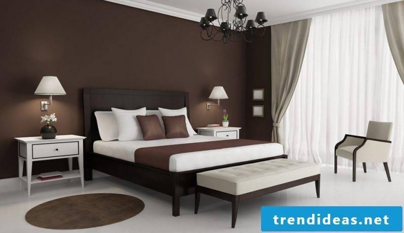 creative bedroom design after Feng Shui