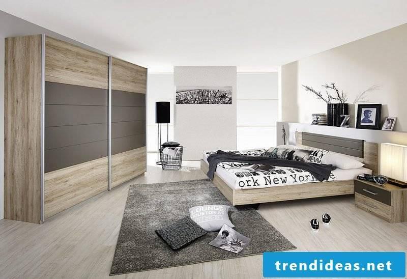 Feng Shui bedroom with modern design