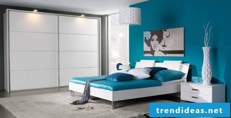 Feng Shui bedroom blue