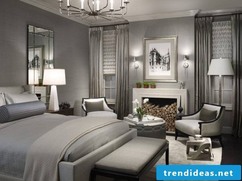 stylish bedroom framed by Feng Shui
