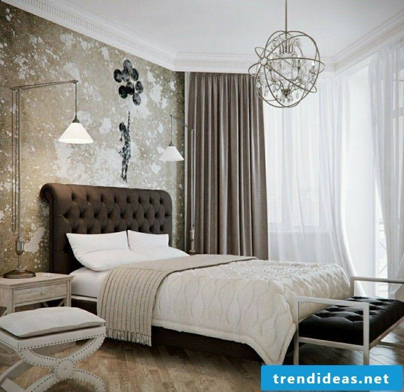 Feng Shui bedroom with original design
