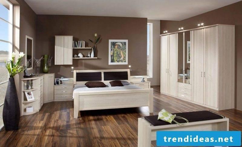 original bedroom designed according to Feng Shui