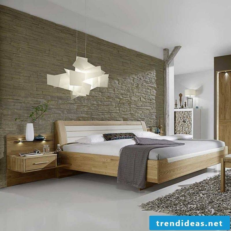 Bedroom design after Feng Shui