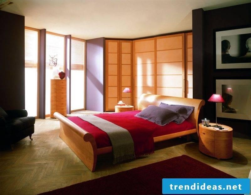 interesting bedroom Feng Shui