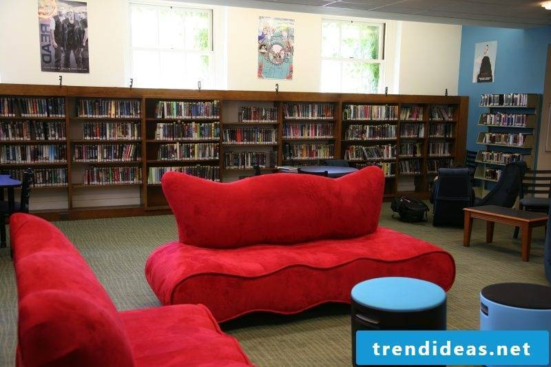 Youth room set up - teenagers dream of their own sitting area