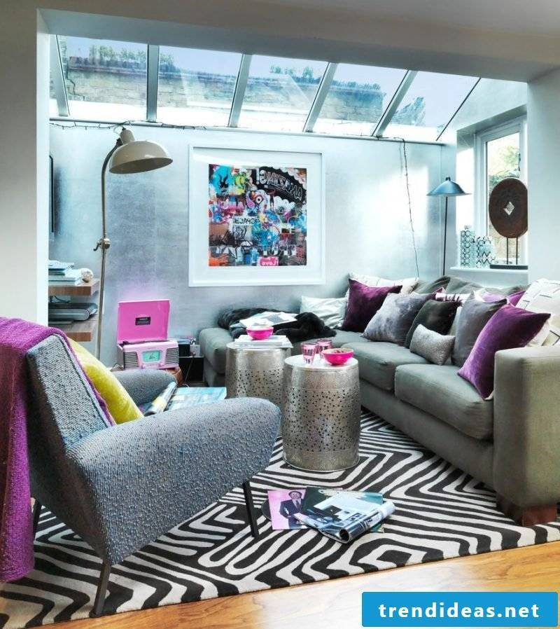 Set up youth rooms - create a comfortable seating area