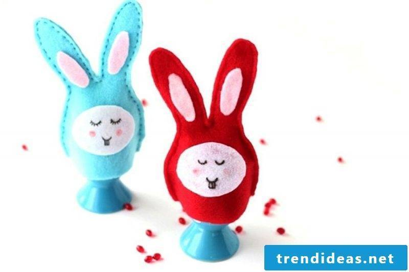 Egg warmer sew bunny