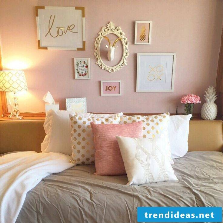 Sewing pillow cases: Beautiful pillow covers as a decoration in the bedroom!