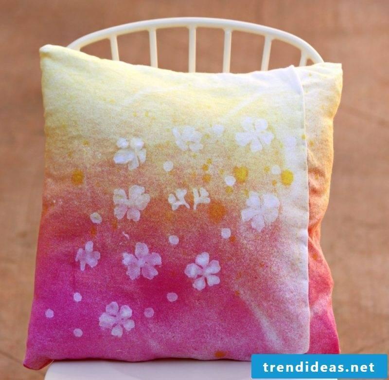 Make pillowcase yourself!