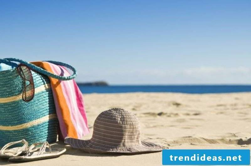 Sewing beach bag DIY