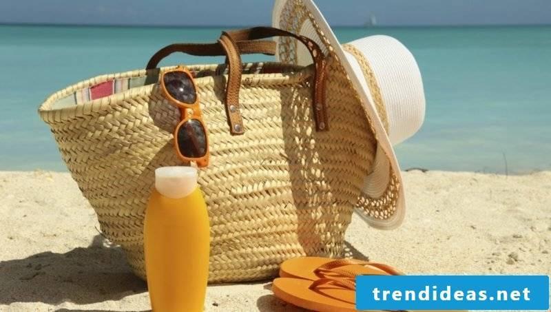 Beach bag sew for all your beach stuff