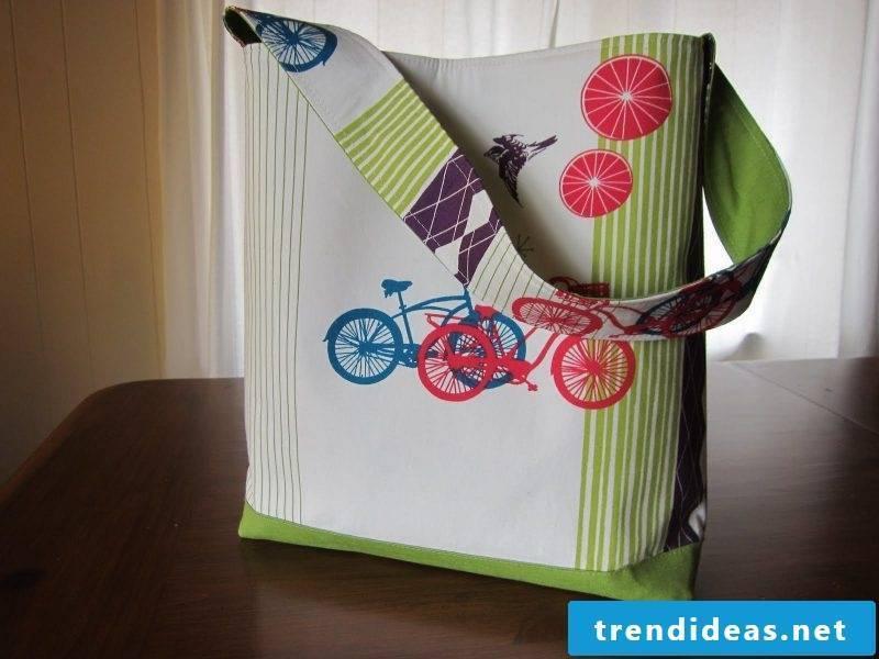 Sew Practical Fabric Bag!