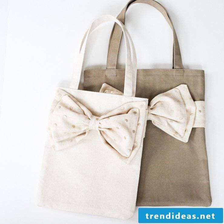 Sew elegant cloth bag!